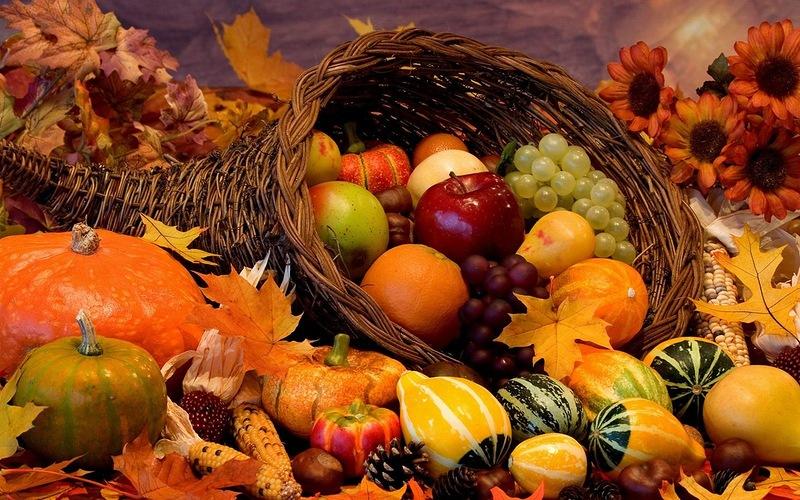 осенние картинки овощи и фрукты