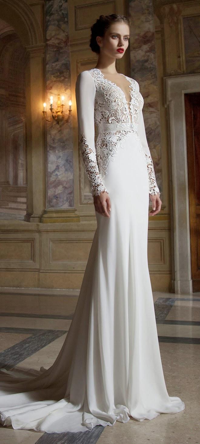 Красивые элегантные свадебные платья