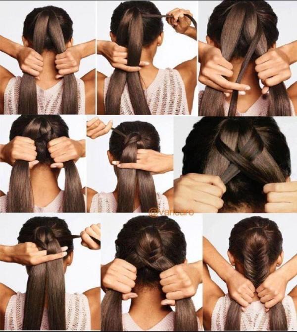 Прически на волосы до лопаток своими руками