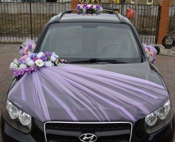 Украшения на свадебную машину своими руками