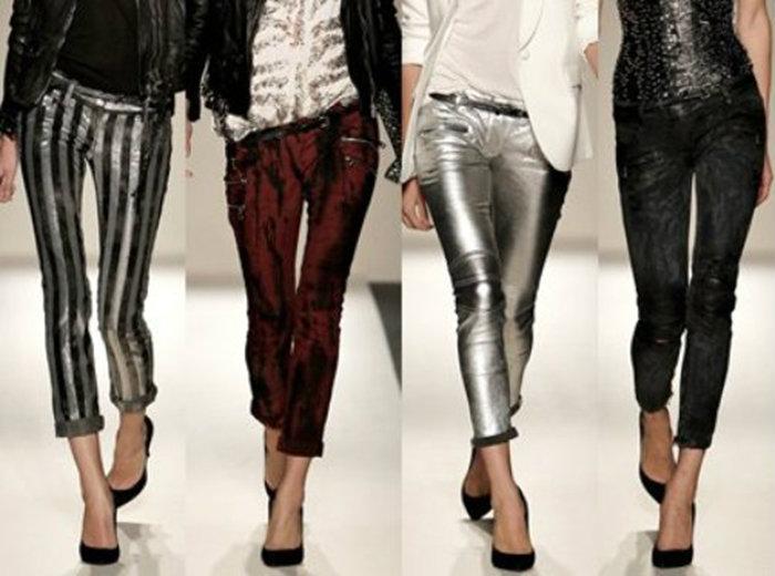Модная длинна брюк